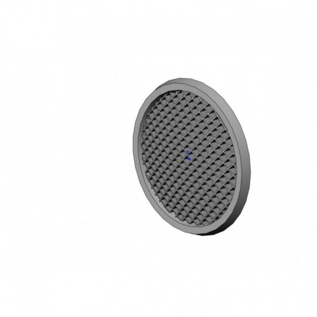 Speaker grille stl file