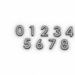 Numbers stl files
