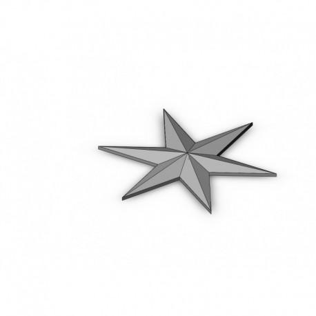 6 star stl file
