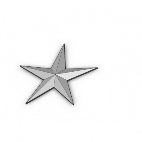 5 star stl file