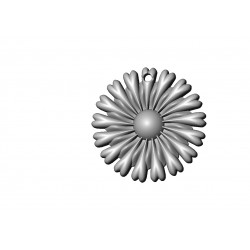Flower Pendant stl file